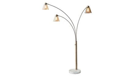 Sienna Arc Lamp