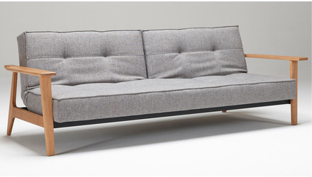 Sofi Split Back Sofabed with Frej Armrests