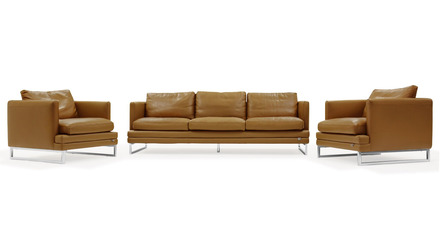 Brando Sofa Set with 2 Armchairs