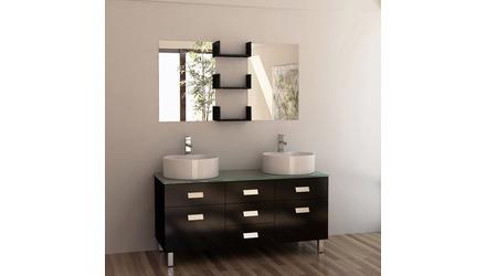 "Tomas 55"" Double Sink Vanity Set"