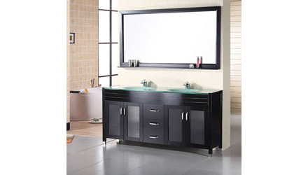 "Walton 60"" Double Sink Vanity Set"