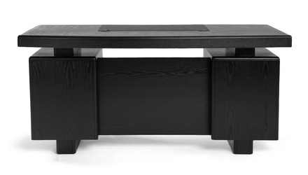 Monroe Desk - Black Oak