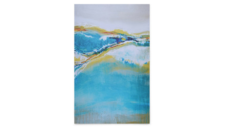 "Oceanfront View Canvas Art - 80"" x 50"""
