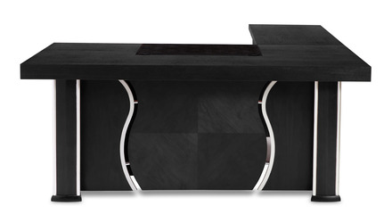 Pierce Desk - Black Oak