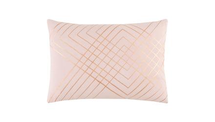 Crest Hatch Lumbar Throw Pillow