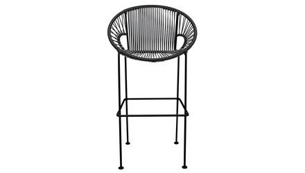 Puerto Bar Stool - Black Frame
