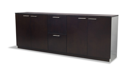 Reagan Cabinet - Dark Walnut