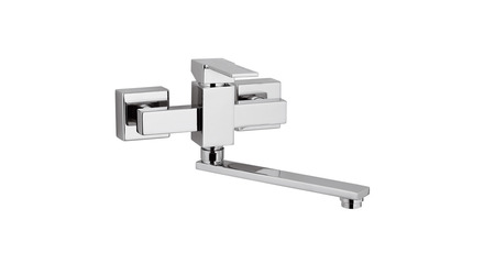Qubika Wall Mounted Sink Faucet