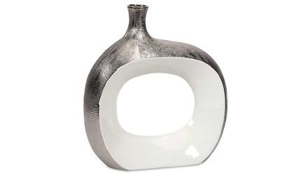 Riley Small Metallic Vase