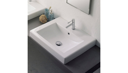 Square Self Rimming Sink