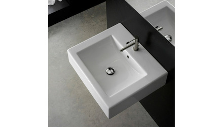 Square Wall Mounted Sink
