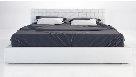 Shae Bed- White