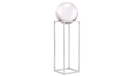 Silver Square Orb Display Large