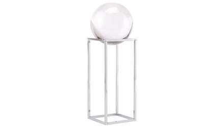 Silver Square Orb Display Small