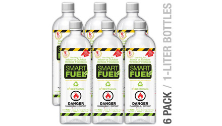 Smart Liquid Bio-Ethanol Fuel - 6 Pack