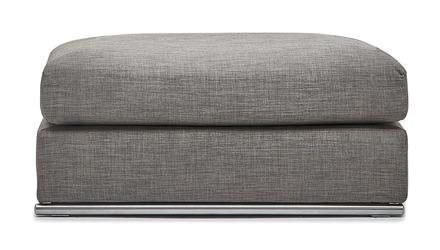 Soriano Ottoman - Gray