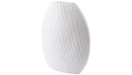 Urchin Round Vase Large White