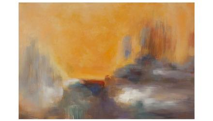 "View Above Canvas Art - 71"" x 48"""
