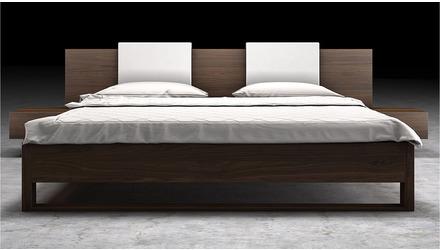 Viserys Bed - Walnut