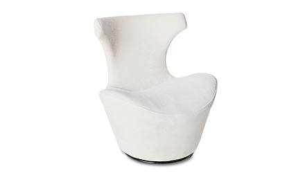 Wedge Swivel Chair