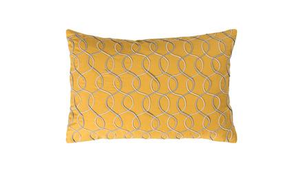 Bold Waves Lumbar Throw Pillow