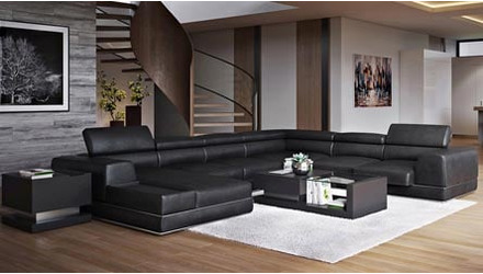 Wynn Sectional - Black