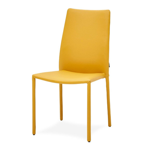 Noah Dining Chair - Yellow