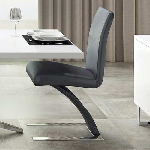 Mesa Dining Chair - Dark Grey