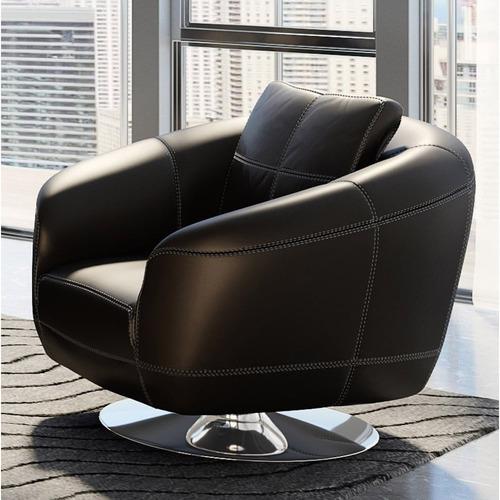 Lucy Swivel Chair - Black