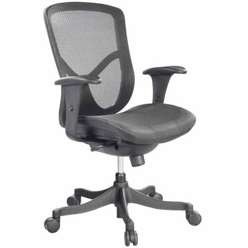 Fuzion Mesh Back Swivel Chair- Black Frame