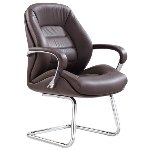 Gates Leather Guest Chair - Brown