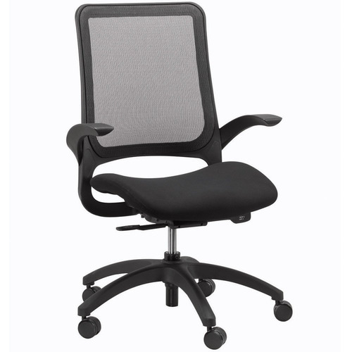 Hawk Mesh Back Swivel Chair with Fabric Seat