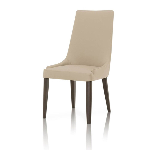 Padron Top Grain Leather Dining Chair - Set of 2 - Flaxen