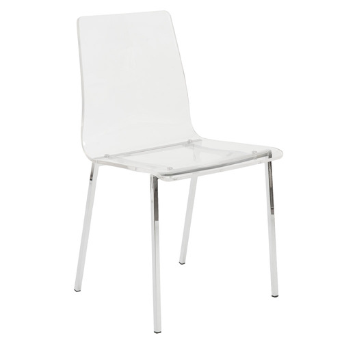 Sia Acrylic Side Chair - Set of 4