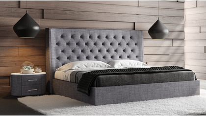 Artemis Fabric Storage Bed