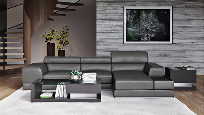 Encore Sectional - Slate