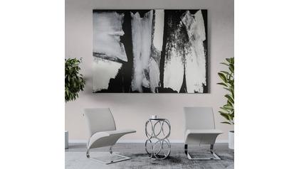 "Broken Negative Canvas Art - 96"" x 70"""