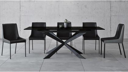 Burton Extension Dining Table Set with Chairs