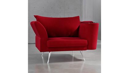 Cafe Chair - Red Velvet