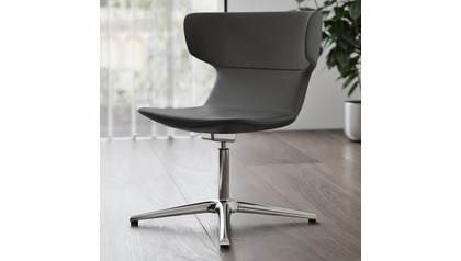 Covey Leather Guest Chair