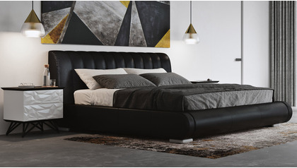 Dior Leather Bed