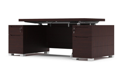 Ford Adjustable Height Desk - Dark