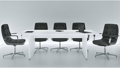 Ford Meeting Table - White