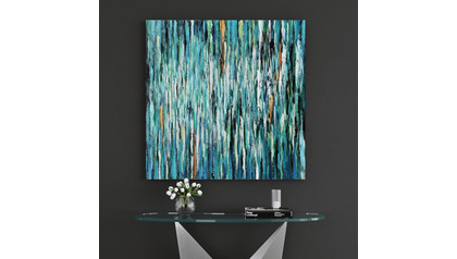 "Glacial Impressions Canvas Art - 50"" x 50"""