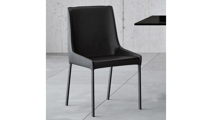 Helena Dining Chair - Black/Gray