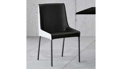 Helena Dining Chair - Black/White