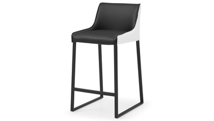 Helena Counter Stool - Black/White