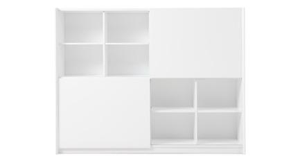 Jackson Bookcase - White