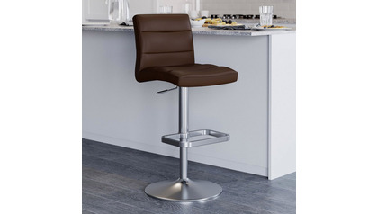 Brown Lush Bar Stool