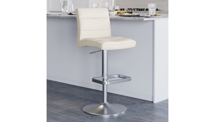 Lush Cream Bar Stool